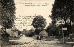 Louvrechy - Sortie du Village - Routes de Mailly - THORy... - Louvrechy