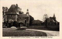 Moyencourt-les-Poix - Le Chateau - Pavillon de l'Horloge - Moyencourt-lès-Poix