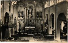 Saint-Blimont - Int. de l'Eglise - Saint-Blimont