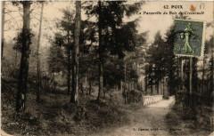 Poix - La Passerelle du Bois de Croixrault - Croixrault