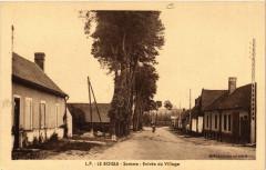 Le Boisle - Somme - Entrée du Village - Le Boisle