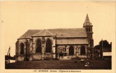 Le Boisle - Somme - L'Eglise et le Mon. - Le Boisle