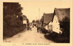Le Boisle - Somme - Route de Vergeollay - Le Boisle