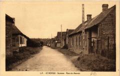 Le Boisle - Somme - Rue du Marais - Le Boisle