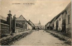 La Faloise - La rue de l'Eglise - La Faloise