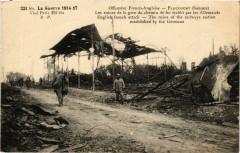 La Guerre 1914-17 - Offensive Franco-Anglaise - Flaucourt - Flaucourt