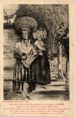 Ancienne Coiffure des Champenoises des Env. de Troyes - Oyes
