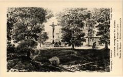 Anciens Remparts de Reims Calvaire du Rempart du Jard Dessin de 51 Reims