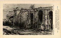 Anciens Remparts de Reims Arc de Triomphe romain encastre dans les 51 Reims