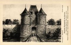 Anciens Remparts de Reims Ancienne Porte de Vesle (Xiv s) Dessin 51 Reims