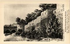 Anciens Remparts de Reims - Rempart du Jard et Tour Saint-Victor- 51 Reims