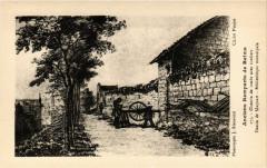 Anciens Remparts de Reims - Chemin de ronde avec condiers - Dessin 51 Reims