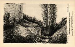 Anciens Remparts de Reims - Tour du Mont-Dieu-Dessin de Maquart - 51 Reims
