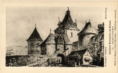 Anciens Remparts de Reims Ancienne Porte Mars Dessin de Maquart 51 Reims