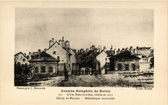 Anciens Remparts de Reims - Grille Dieu-Lumiere édifilée en 1819 51 Reims