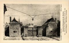 Anciens Remparts de Reims - Derniere Porte Flechambault démolie en 51 Reims