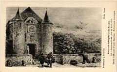 Anciens Remparts de Reims - Ancienne Porte Cérés du Xiv s Dessin 51 Reims