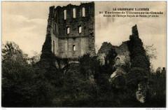 Env. de Villenauxe la Grande Ruines de l'Abbaye Royale - Villenauxe-la-Grande