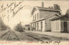 Foucheres La Gare Locomotive - Fouchères