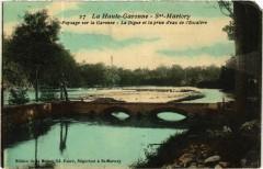 Saint-Martory - Paysage sur la Garonne - La Digue - Saint-Martory