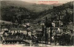 Les Pyrénées Ariegeosises - Le Saint-Gironnais - Vue générale de Seix - Seix
