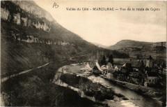 Marcilhac Vue de la route de Cajarc - Cajarc
