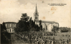 Carbon-Blanc - L'Eglise et le Presbytere - Carbon-Blanc