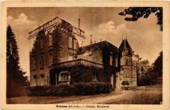 Guitres - Chateau Montfavier - Guîtres