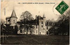 Saint-Andre-du-Bois - Chateau Malrome - Saint-André-du-Bois
