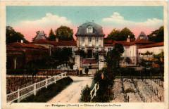 Preignac - Chateau d'Armajan des-Ormes - Preignac