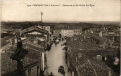 Cocumont - Panorama vu du Clocher de l'Eglise - Cocumont
