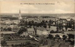 Craon La Ville vue de l'Eglise Saint-Clement - Craon
