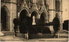 Pontmain La Colonne de l'Apparition - Pontmain