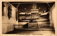 Pontmain Intérieur de la Grange - Pontmain