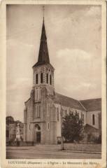 Louverne - L'Eglise - Le Monument aux Morts - Louverné