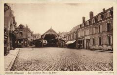 Craon - Les Halles et Place du Pilori - Craon