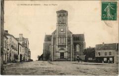 La Chapelle au Riboul - Place de l'Eglise - Placé