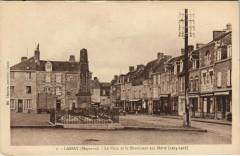 Lassay - La Place et la Monument aux Morts (1914-1918) - Placé