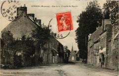 Gorron-Rue de la Chapelle du Bignon - Gorron