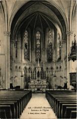 Changé, Mayenne-Intérieur de l'Eglise - Changé