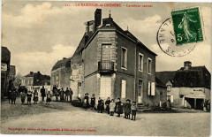 La Bazouge-de-Chémére - Carrefour central - La Bazouge-de-Chemeré