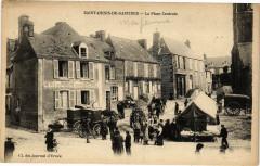 Saint-Denis-de-Gastines - La Place Centrale - Saint-Denis-de-Gastines