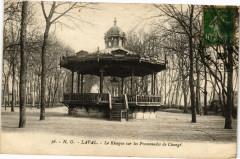 Laval-Le Kiosque sur les Promenade de Changé - Changé
