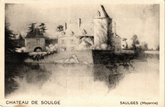 Saulges-Chateau de Soulge - Saulges