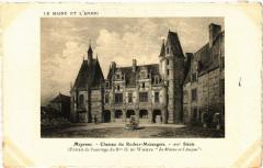 Mayenne-Cháteau du Rocher Mézangers - Mézangers