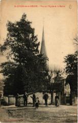 Saint-Julien-de-la-Liegue - Vue sur l'Eglise et la Mairie - Saint-Julien-de-la-Liègue