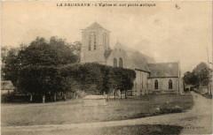 La Saussaye - L'Eglise et son puits antique - La Saussaye