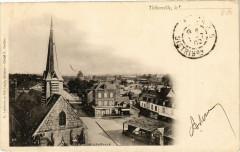 Thiberville le - Vue générale - Thiberville