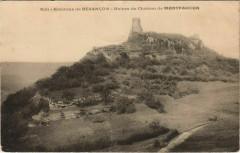Montfaucon Ruines du Chateau de Montfaucon - Environs de Besancon - Montfaucon
