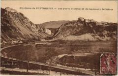 La Cluse-et-Mijoux Les Forts de Joux et du Larmont Inferieur - La Cluse-et-Mijoux
